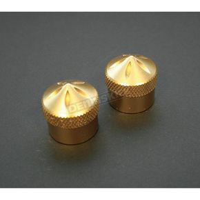 Accutronix Brass Gothic Front Axle Caps - TAC100-G5