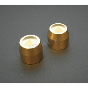 Accutronix Brass Elite Front Axle Caps - TAC101-E5