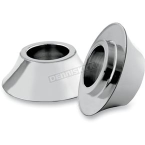 Chrome Tapered Front Axle Spacers - HD-SPCR-2C