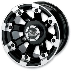 Black 393X Cast Aluminum ATV/UTV Wheel - 0230-0518