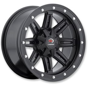 Vision Wheel Matte Black Five-Fifty - 550 12X8 Wheel - 550-128156MB4
