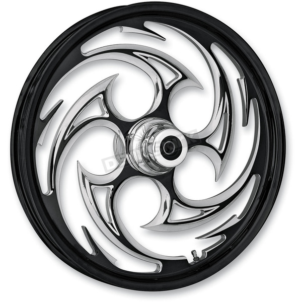 RC Components Front Black 18 x 3.5 Savage Eclipse Forged Wheel - SU1835005-85E
