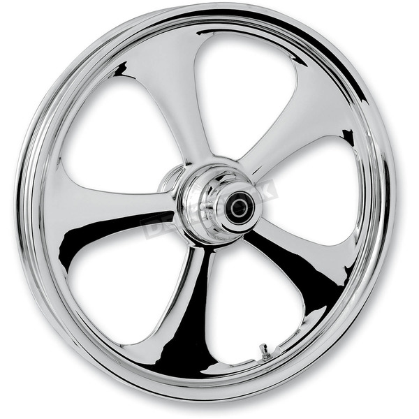 RC Components Front 21 in. x 2.15 in. Nitro One-Piece Forged Aluminum Chrome Wheel - 21215-9913-92C
