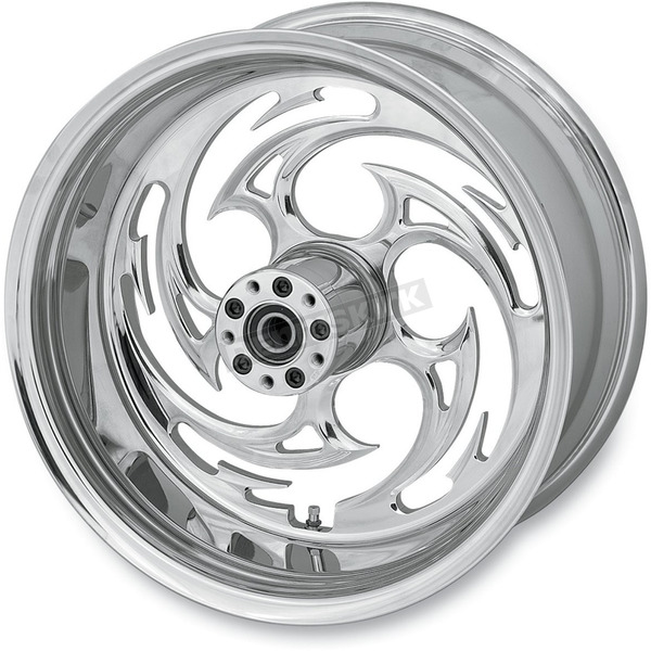 RC Components Chrome 18 x 3.5 Savage One-Piece Wheel - 18350-9974-85C