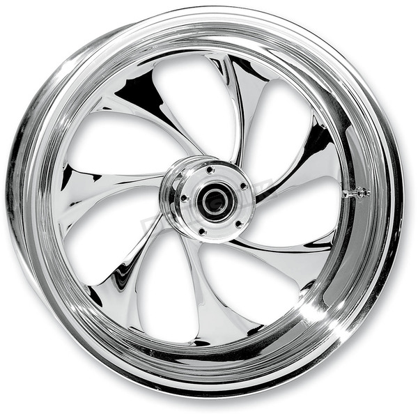 RC Components Rear 17 in. x 6.25 in. Drifter One-Piece Forged Aluminum Chrome Wheel - 17625-9210A-101