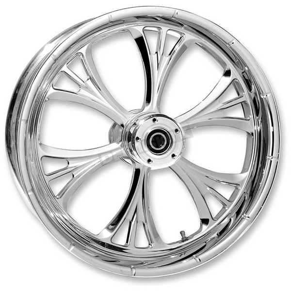 RC Components Chrome 18 x 5.5 Majestic Rear Wheel (for OEM Pulley (w/ABS)) - 18550-9210-102C