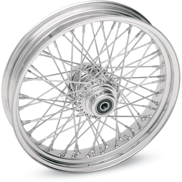 Drag Specialties Chrome 16 x 3.5 60-Spoke Laced Wheel Assembly - 0204-0071