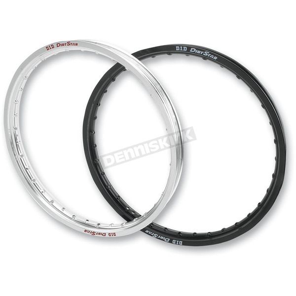 DID Black Front Original DirtStar Rim - 21X160VB01K