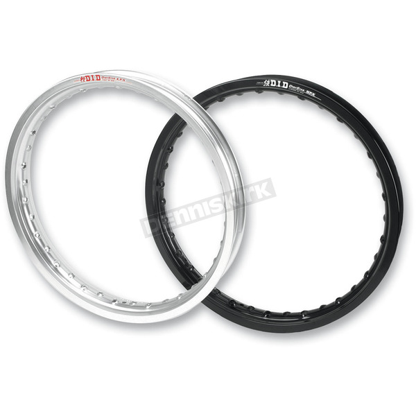 DID Black Rear ST-X DirtStar Rim - 19X185STB01H
