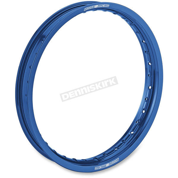 Moose Blue 19 x 2.15 Rear Aluminum Rim - 0210-0320