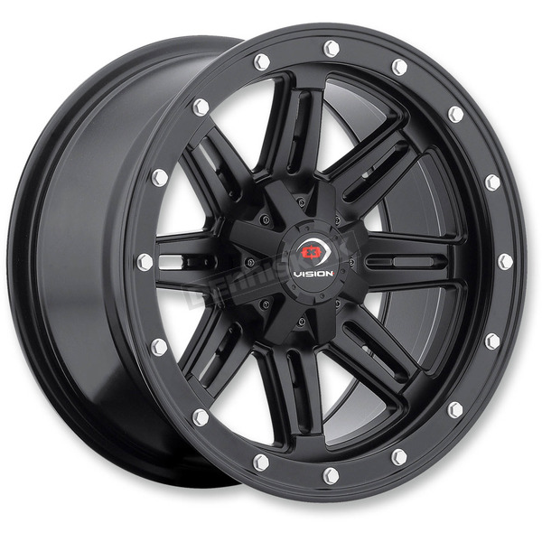 Matte Black Five-Fifty - 550 14X8 Wheel - 550-148156MB4