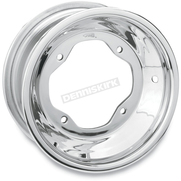 AMS Rolled-Lip Polished Spun Aluminum Wheel - 261RL105156P