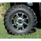 Machined Black 387X Tire/Wheel Kit - 0331-1149