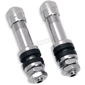 Chrome Bolt-In Valve Stems - 0360-0009