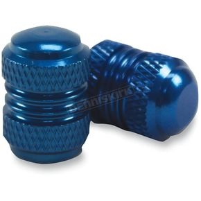 Factory Effex Blue Valve Cap Kit - 15-36012