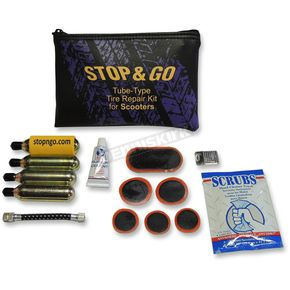 Stop & Go Scooter Tube-Type Tire Repair and Inflation Kit  - TTRK1