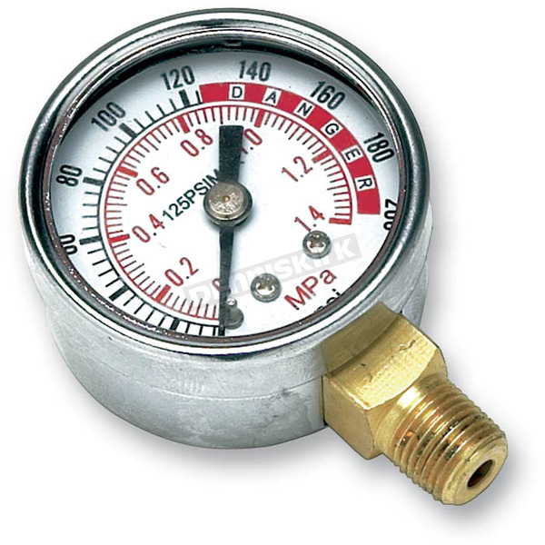 Performance Tool 0-200 psi Air Gauge  - W10055