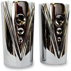 Chrome V-Line Fork Tube Covers for Indian Chief - TM-6000CH