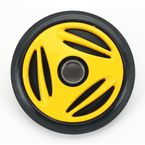 Yellow Idler Wheel w/Bearing - 4702-0034
