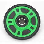 Lime Idler Wheel w/Bearing - 4702-0049