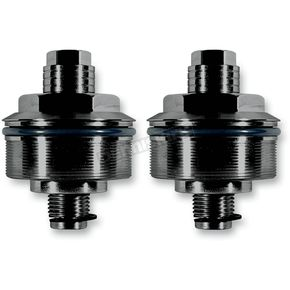 Black 49mm Fork Preload Adjusters - SM49A-1