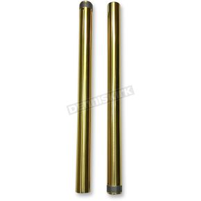 Gold 49mm Fork Tubes - 105130G