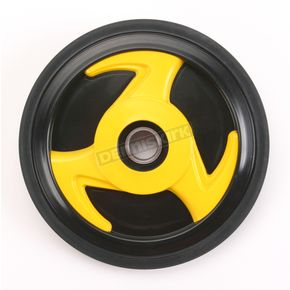 Parts Unlimited Yellow Idler Wheel w/Bearing - 4702-0038