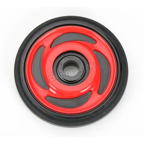 Parts Unlimited Indy Red Idler Wheel w/Bearing - 4702-0040