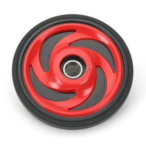 Parts Unlimited Indy Red Idler Wheel w/Bearing - 4702-0044
