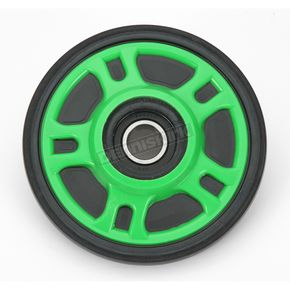 Parts Unlimited Lime Idler Wheel w/Bearing - 4702-0049