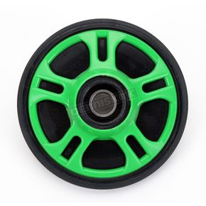Parts Unlimited Lime Idler Wheel w/Bearing - 4702-0053