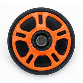 Parts Unlimited Orange Idler Wheel w/Bearing - 4702-0054