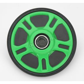 Parts Unlimited Green Idler Wheel w/Bearing - 4702-0056