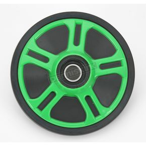 Parts Unlimited Lime Idler Wheel w/Bearing - 4702-0060