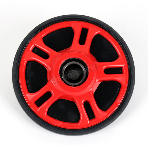Parts Unlimited Red Idler Wheel w/Bearing - 4702-0055