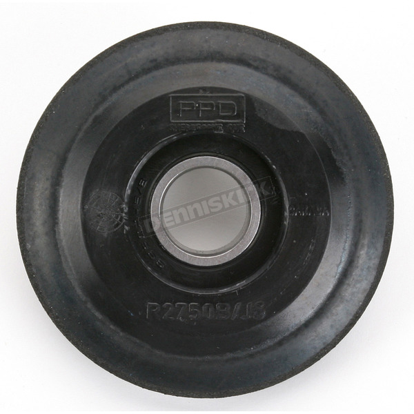 Parts Unlimited Black Idler Wheel w/Bearing - 4702-0065