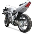 Superbike Rear Silver Undertail Fender Eliminator - S03SVSBSIL