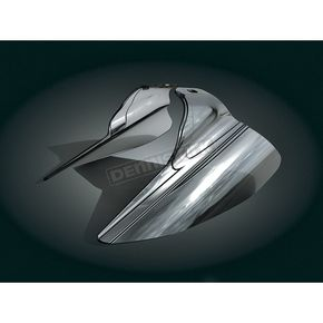 Kuryakyn Reflective Smoke Saddle Shields - 1316