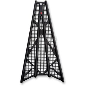 Battistinis Custom Cycles Black Anodized Wireframe Grill - 50-521
