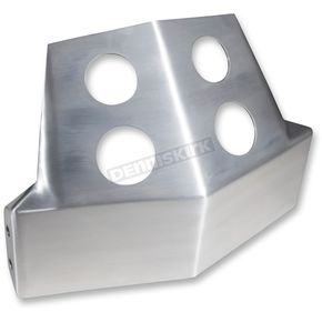 Alloy Art Brushed Aluminum Skid Plate - SM-DSP-06-1