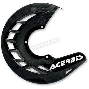 Acerbis Black X-Brake Front Disc Cover - 2250240001