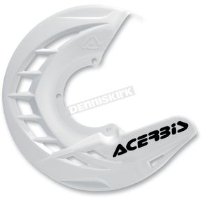Acerbis White X-Brake Front Disc Cover - 2250240002