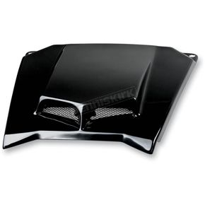 Maier Black ATV Scooped Hood - 194690