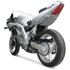 Hot Bodies Racing Superbike Rear Silver Undertail Fender Eliminator - S03SVSBSIL