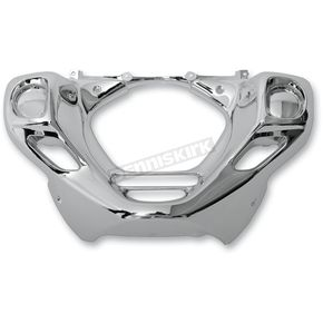 Parts Unlimited Chrome Front Lower Cowl - 0521-0912