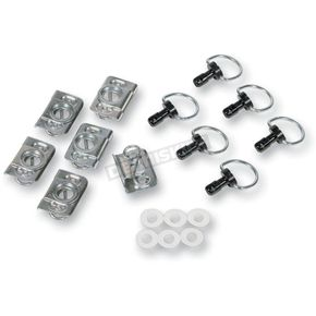 Fiberglass D-Ring Quick-Fasin Kit w/Clips - CPP/9030/BK