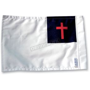 6 in. x 9 in. Christian Flag - FLG-CHRT