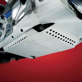 Show Chrome Aluminum Belly Pan  - 52-817