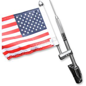 Stainless Steel 9 in. Antenna Flag Mount - RFM-RDGA