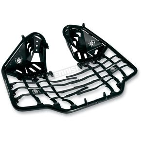 Pro Armor Black Nerf Bars w/Plate Heel Guards - S061078BL